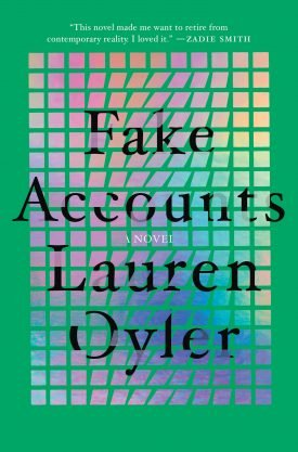Fake Accounts book cover